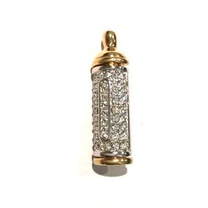 Swarovski Crystal Pave Baby Bottle Pin Brooch